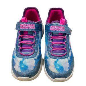 Skechers Pink & Blue Girl 12.5 Sneakers